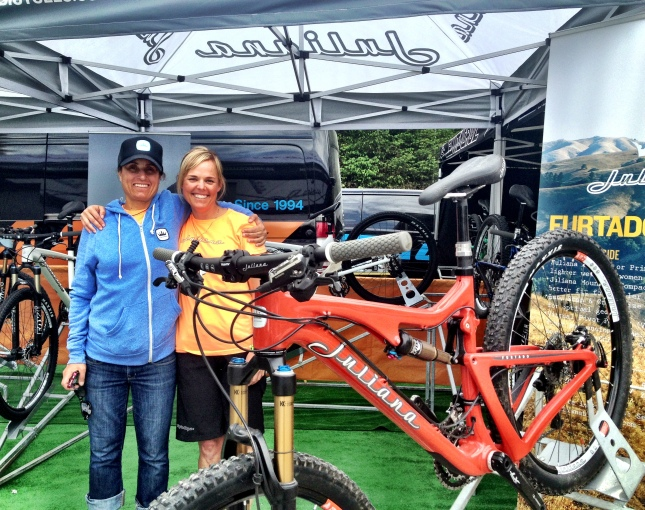 Fort William WC - Juliana Bicycles booth
