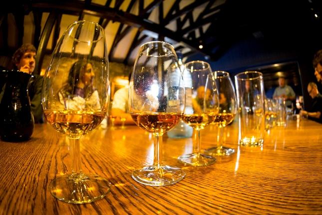 whiskey time at Lochnagar