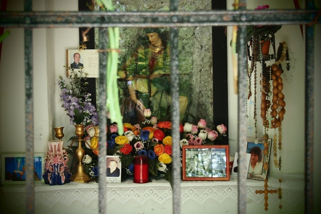 I am intrigued by all the shrines you come across on the rides in Europe.
