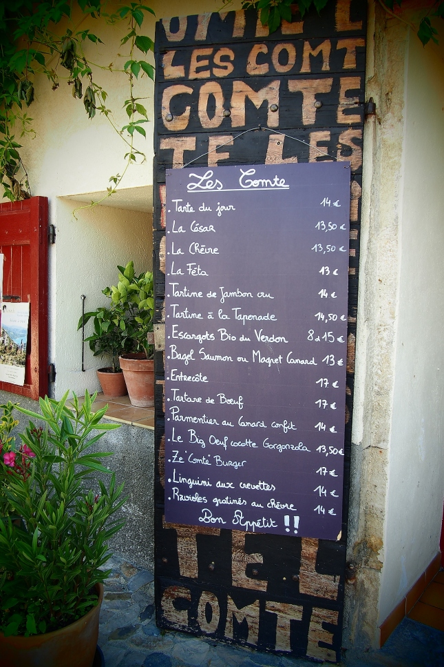 Loving the food in France  - is it possible to overdose on chèvre?