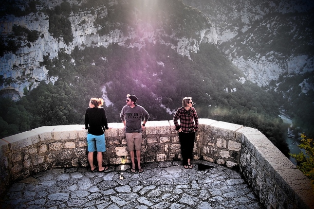 In awe of the scenery we stumble upon. Checking out the gorges with JC & Christine.