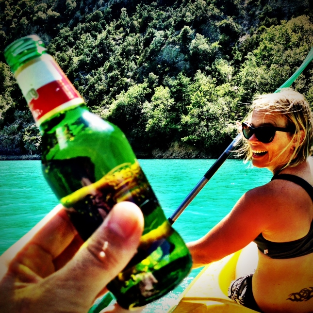 It's summertime. Swimming, kayaking, beers & good times with JC, Christine, T-Mo, James & Sven.