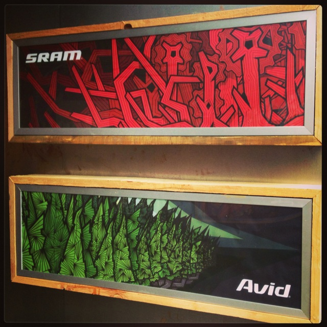 SRAM pop up store - so sick!