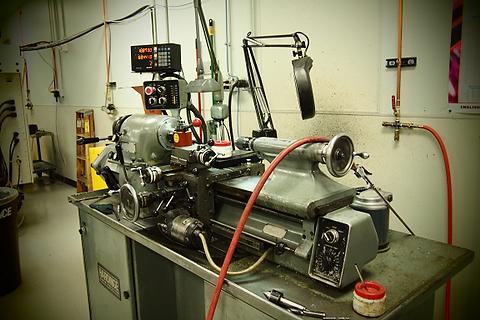 Old Skool machines making cool stuff.