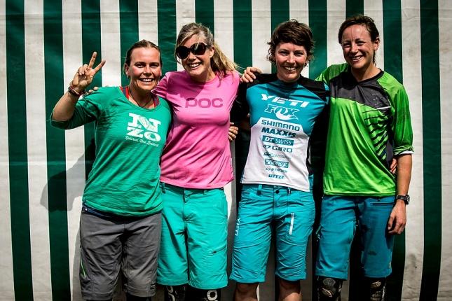 Kiwi girls representing! Gabby, Rosara, Meggie & myself having fun in the Alps.