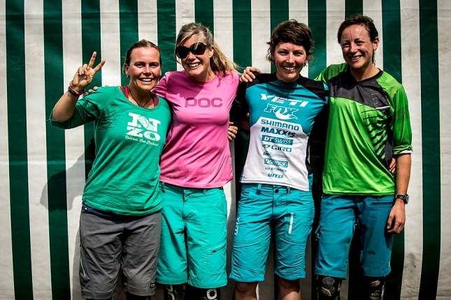 Kiwi girls representing! Gabby, Rosara, Meggie & myself having fun in the Alps.