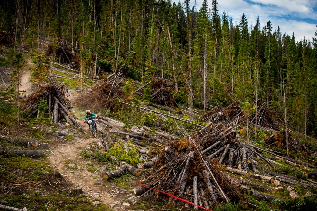 This was probably the shortest stage ever raced in the EWS, it was super sweet though, but over before it began.