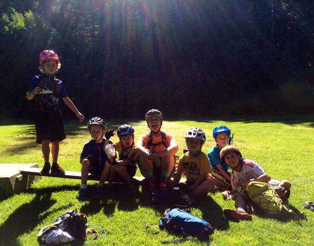 A highlight has been going on a 3 hour adventure ride and treasure hunt with Seb Kemp and some of the kids that he coaches. Amazing kids!