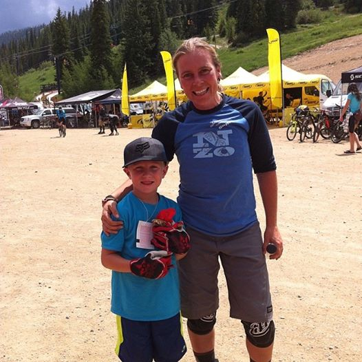 Catching up with old friends & getting to know their kids is pretty awesome :) Thanks CG for giving Ryder your gloves - you have a fan for life.